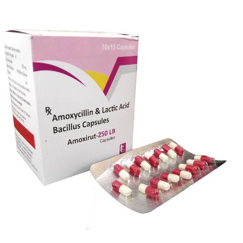 AMOXIRUT-250 DT Tablets