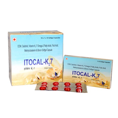 ITOCAL K2-7 SoftGel Capsules