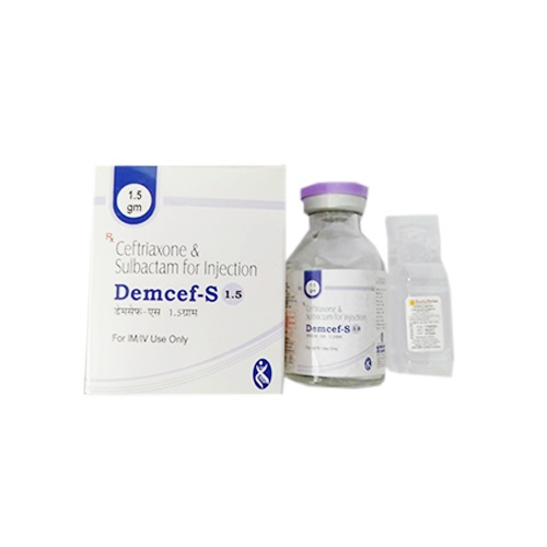 DEMCEF-S 1.5gm Injection