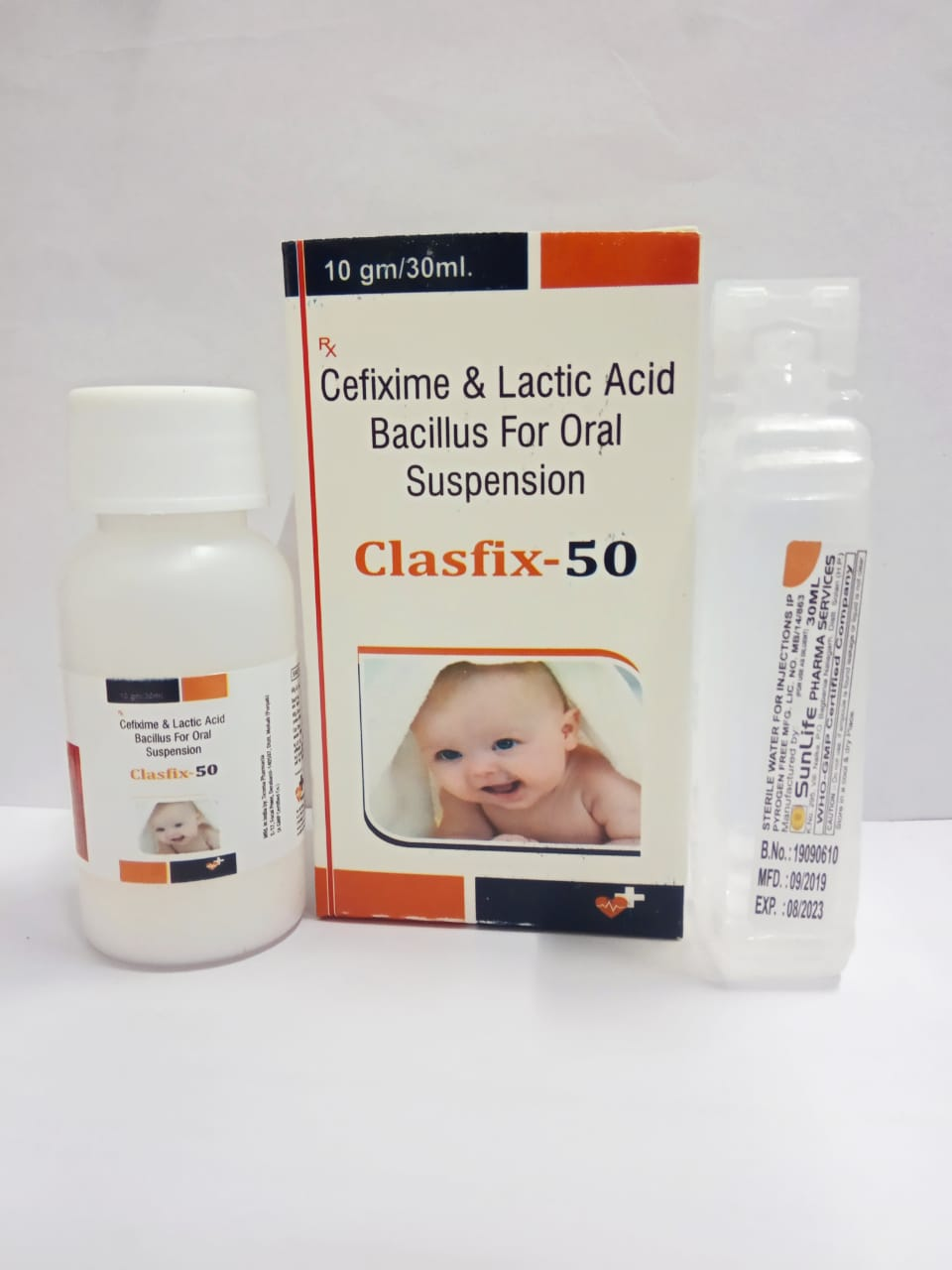 CLASFIX-50 Dry Syrup