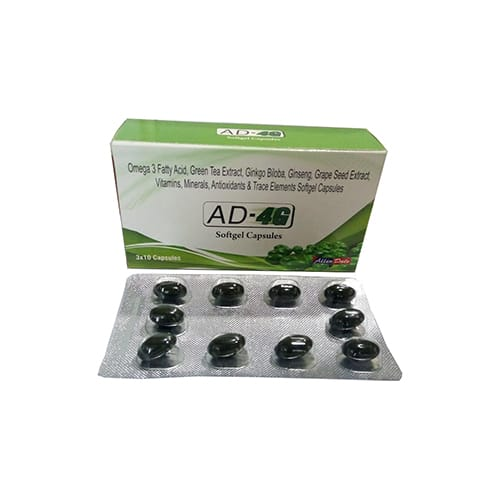 AD-4G Softgel Capsules