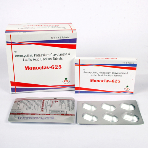 MONOCLAV-625 Tablets