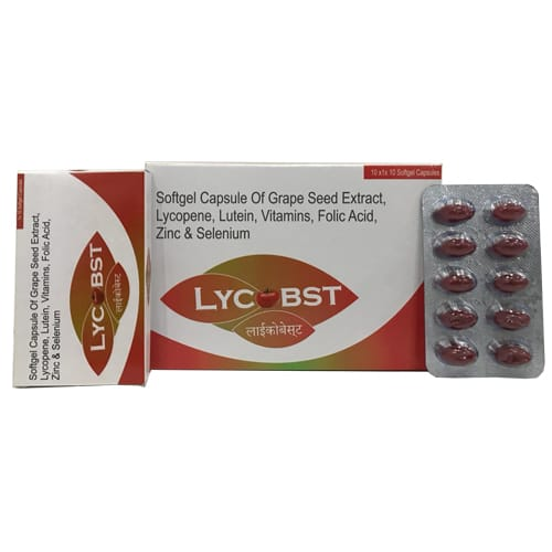 LYCOBST SoftGel Capsules