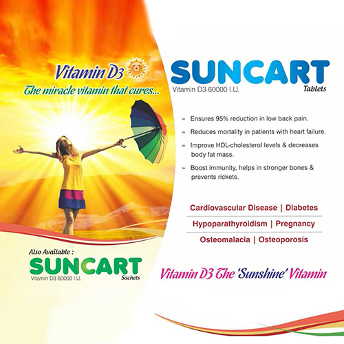 SUNCART Tablets