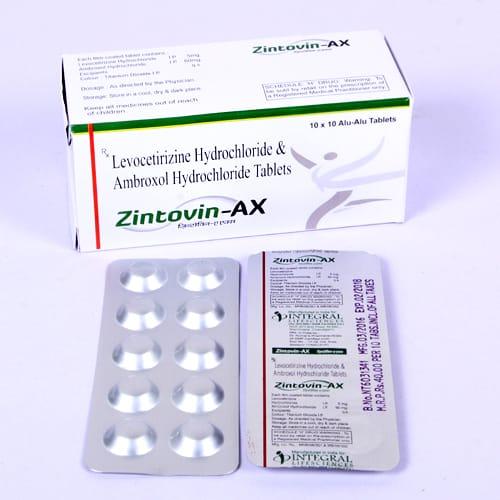 ZINTOVIN- AX Tablets