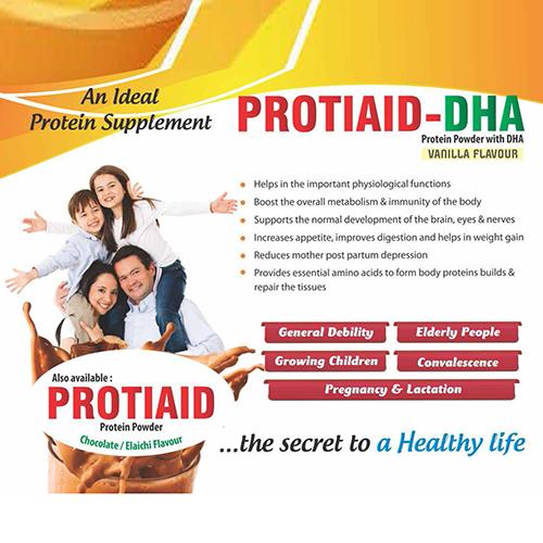 PROTIAID-DHA(Vanilla Flavour) Protein Powder