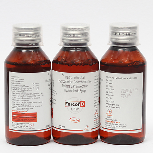 FORCOF-D Syrup