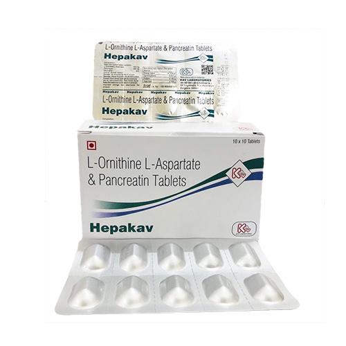 HEPAKAV Tablets