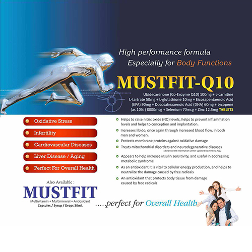 MUSTFIT-Q10 Tablets