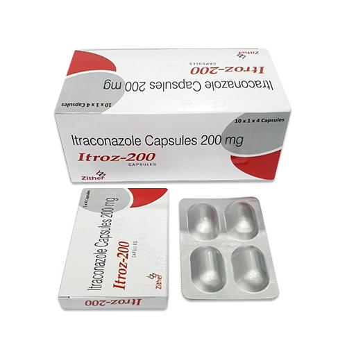 ITROZ- 200 Capsules