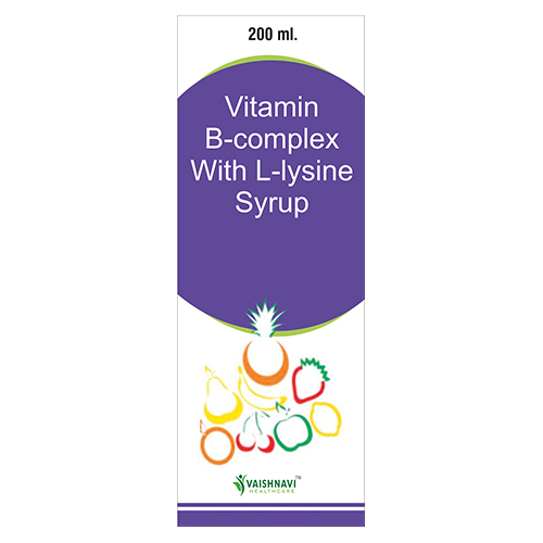 Vitamin B-Complex with L-Lysine Syrup