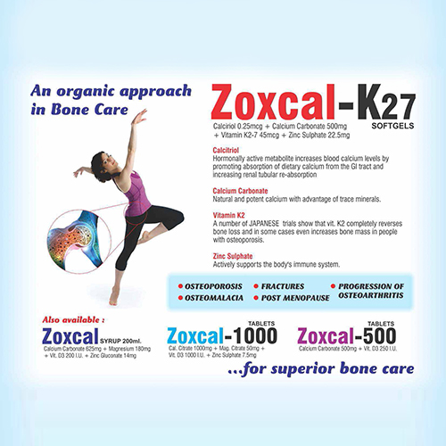 ZOXCAL-K27 Softgel Capsules