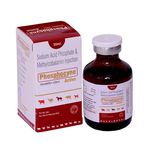 SODIUM ACID PHOSPHATE 400mg + MECO100mg-30ml Liq. Injection(Vet.)