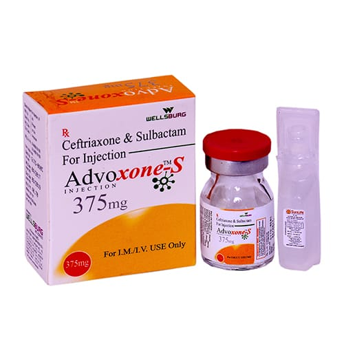 CEFTRIAXONE & SULBACTAM-375mg Dry Injection