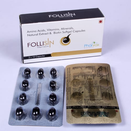 FOLLISIN Soft Gelatin Capsules