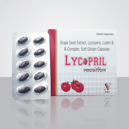 LYCOPRIL Softgel Capsules