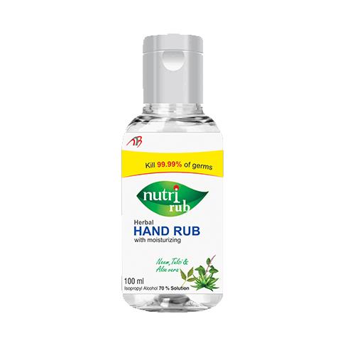 Nutri Rub Hand Sanitizer
