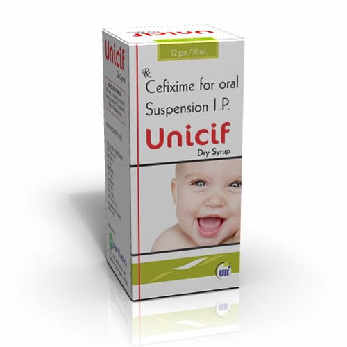 UNICIF Dry Syrup
