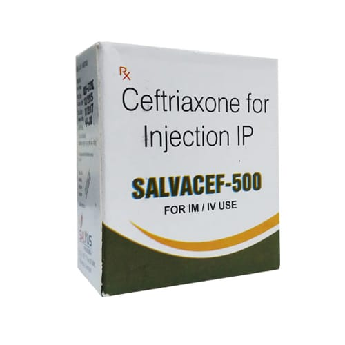 Salvacef-500 Injection