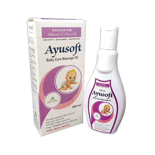 AYUSOFT Baby Oil