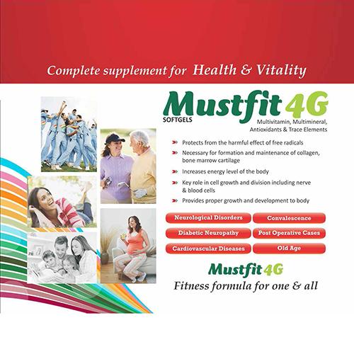 MUSTFIT-4G Softgel Capsules
