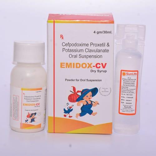 EMIDOX-CV Dry Syrup