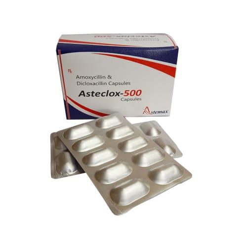 ASTECLOX- 500 Capsules