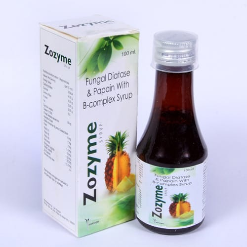 Zozyme 100ml Syrup