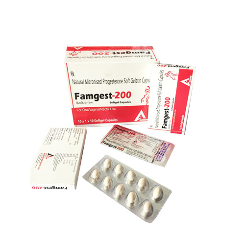FAMGEST-200 Softgel Capsules
