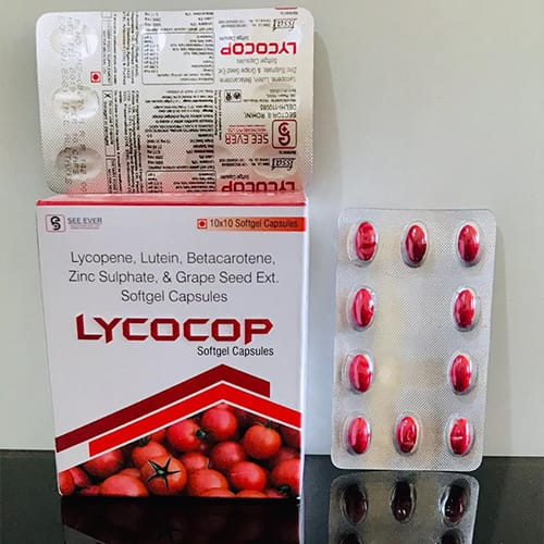 LYCOCOP Softgel Capsules