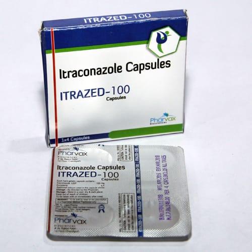 ITRAZED-100 Capsules