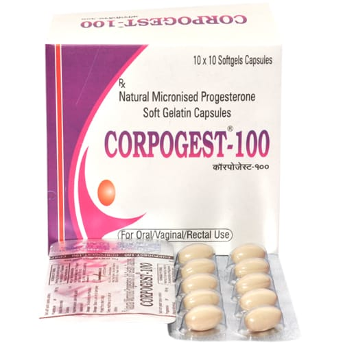 Corpogest-100 Softgels Capsules
