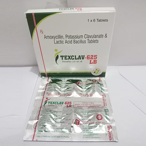 TEXCLAV-625-LB Tablets