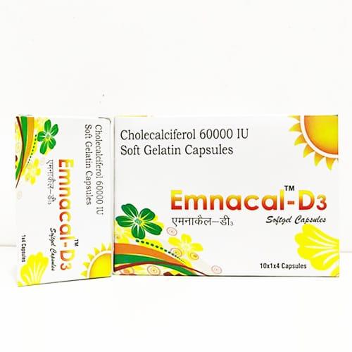 EMNACAL™-D3 Softgel Capsules Blair Remedies Pvt  Ltd