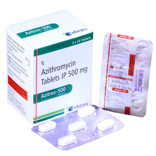 AZITREX 500 Tablets