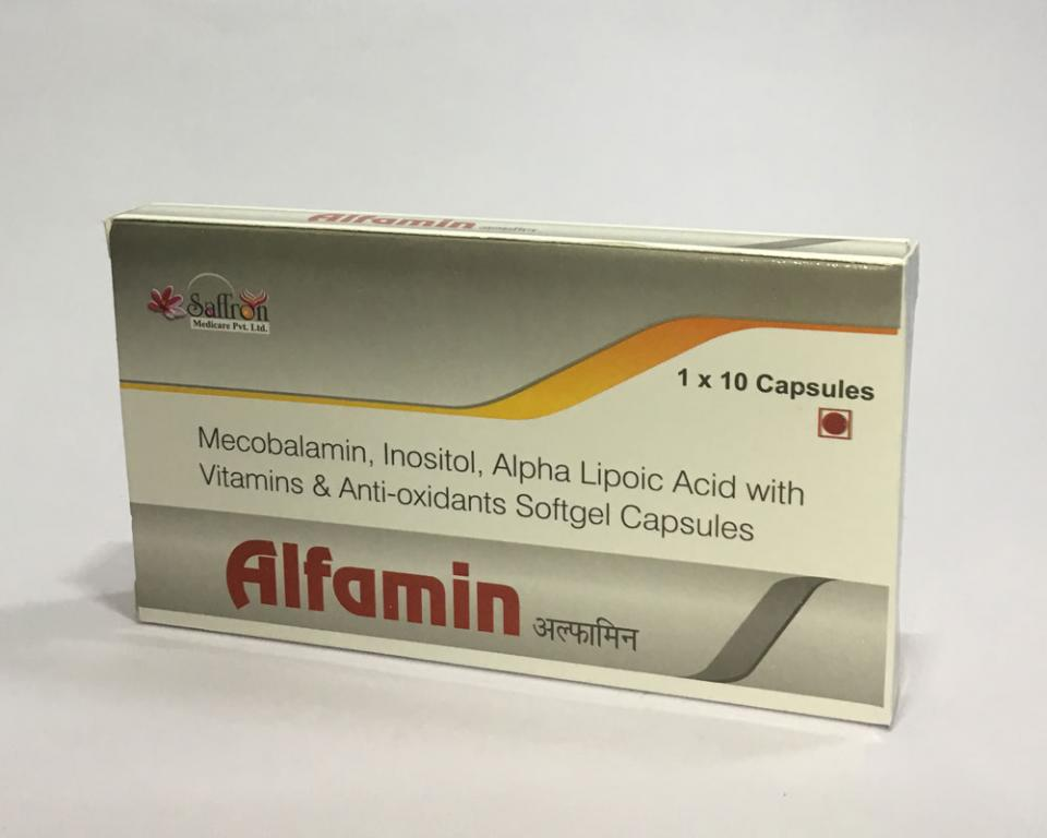 ALFAMIN  (Soft Gelatin Cap. Unique Combination)