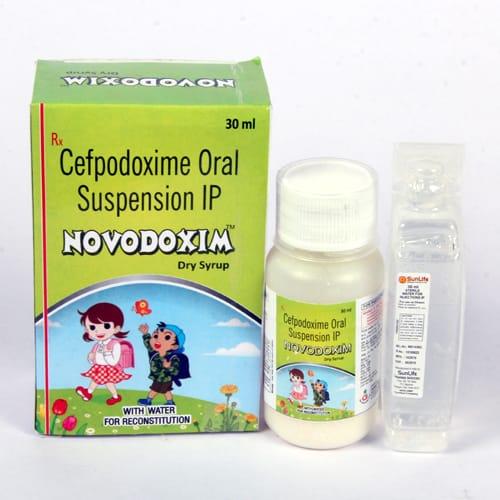 NOVODOXIM Dry Syrup