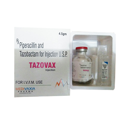 TAZOVAX-4.5gm Injection