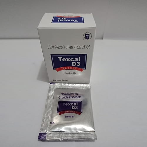 TEXCAL-D3 Sachets