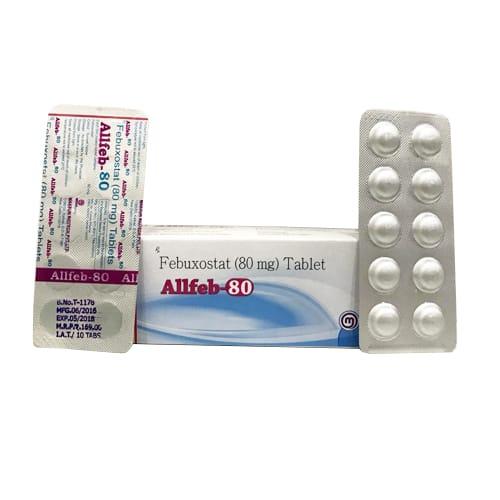 ALLFEB-80 Tablets