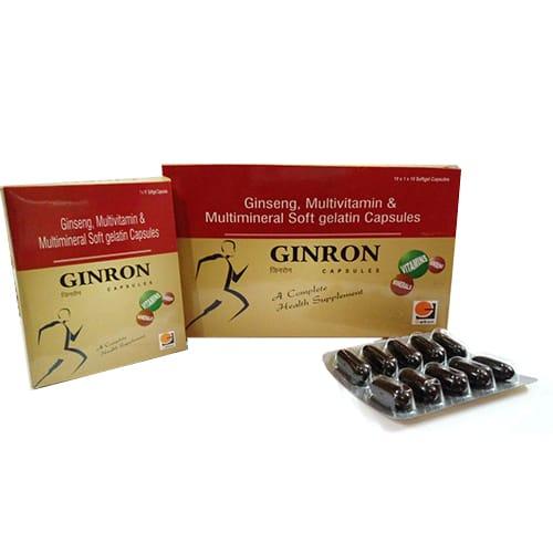 GINRON SoftGel Capsules