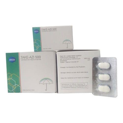 TAKE - AZI 500 Tablets