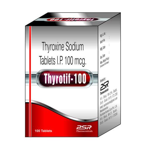 THYROTIF-100 Tablets