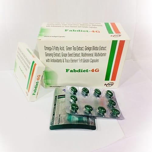FABDIET 4G SoftGel Capsules