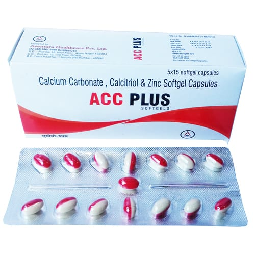 ACC-PLUS SoftGel Capsules