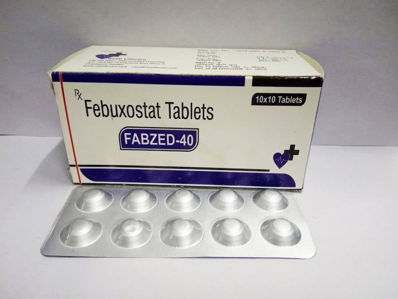FABZED-40 Tablets