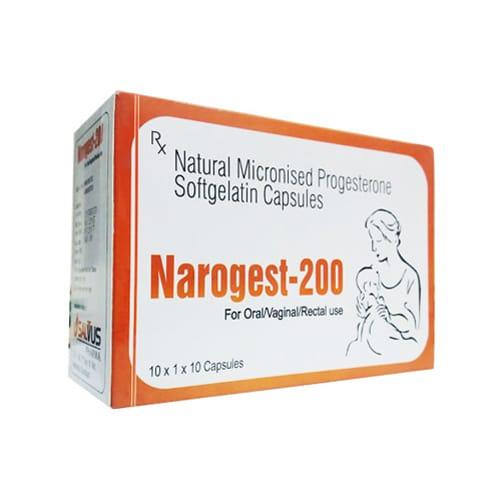 Narogest-200 SoftGelatin Capsules