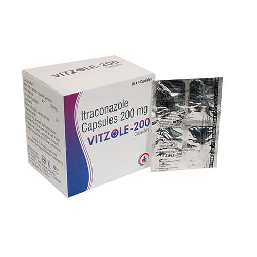 VITZOLE-200 Capsules
