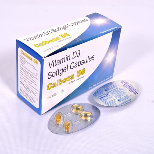 CALBOSS-D6 SoftGel Capsules