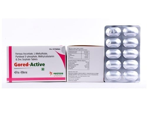 GORED ACTIVE Ferrous Tablets